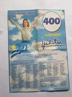 JULIA POU DE LACALLE, LISTA ELECCIONES URUGUAY 2000 - Oude Documenten