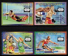 PAPUA NEW GUINEA, 2010 COMMONWEALTH GAMES 4 MNH - Papua New Guinea