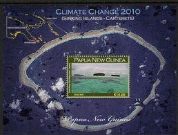 PAPUA NEW GUINEA, 2010 CLIMATE CHANGE EFFECTS K10 MINISHEET MNH - Papua New Guinea