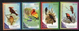 PAPUA NEW GUINEA, 2010 BOWER BIRD 4 MNH - Papua New Guinea