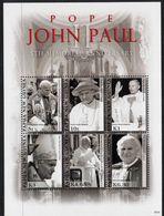 PAPUA NEW GUINEA, 2010 POPE JOHN PAUL MINISHEET MNH - Papua New Guinea