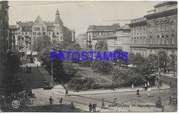 140483 POLAND WARSZAWA VIEW SQUARE CIRCULATED TO ARGENTINA POSTAL POSTCARD - Polonia