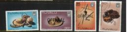 (stamp 14-8-2020) - Tuvalu Islands (5 Stamps) Birds (used) - Tuvalu