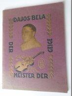 DEL002.16 Booklet DAJOS BÉLA Der Meister Deer Geige - Booklet - Werbung