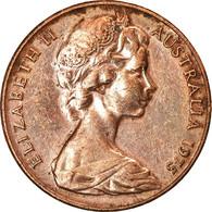 Monnaie, Australie, Elizabeth II, 2 Cents, 1975, TTB, Bronze, KM:63 - 2 Cents