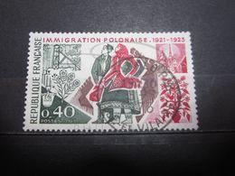 "VEND BEAU TIMBRE DE FRANCE N° 1740 , OBLITERATION "" ST-MALO "" !!! - Francia"