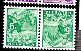 35692 - 4 Paires Tête  Bèche - Suisse