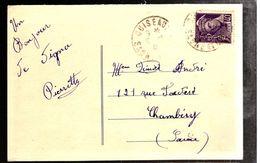 35693 - De CUISEAUX - Marcophilie (Lettres)