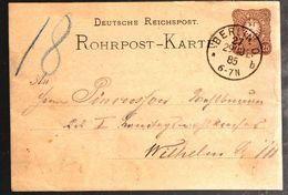 35694 - DE BERLIN - Entiers Postaux