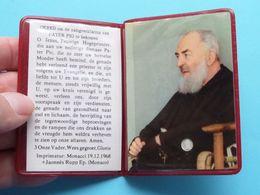 Gebed Om De Zaligverklering Van Pater PIO ( RELIKWIE - RELIQUIARIO - RELIC - RELIQUARY - RELIQUAIRE ) 1968 ! - Religion & Esotericism