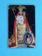 Medaillon ONZE LIEVE VROUW Ten TRAAN ( RELIKWIE - RELIQUIARIO - RELIC - RELIQUARY - RELIQUAIRE ) ! - Religion & Esotericism