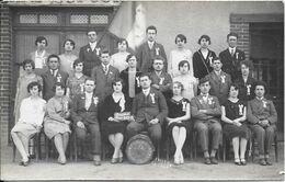 Belle Carte-photo - Honneur Aux Conscrits Classe 1929 - BUSSIERES - Francia