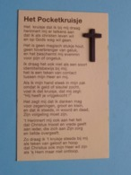 Het POCKETKRUISJE ( Cross / Croix )  ( RELIKWIE - RELIQUIARIO - RELIC - RELIQUARY - RELIQUAIRE ) ! - Religion & Esotericism