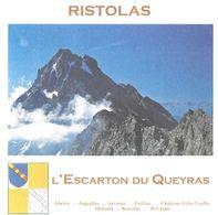 RISTOLAS HAUTES ALPES - L ESCARTON DU QUEYRAS, BLASON, MONTAGNE, ENVIRONNEMENT - PAP ENTIER POSTAL FLAMME 2010 - Protección Del Medio Ambiente Y Del Clima