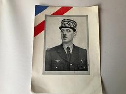 Portrait General DE GAULLE - 1939-45