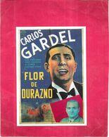 Affiche Carlos GARDEL Flor De Durazno - 140820 - - Ilustradores & Fotógrafos