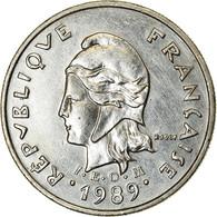 Monnaie, Nouvelle-Calédonie, 10 Francs, 1989, Paris, TTB, Nickel, KM:11 - New Caledonia
