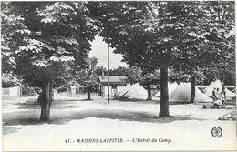 MAISONS LAFFITTE : L'ENTREE DU CAMP - Maisons-Laffitte