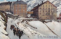 Hospice Du Grand St Bernard Sauvetage D Une Automobiliste En Detresse - VS Valais
