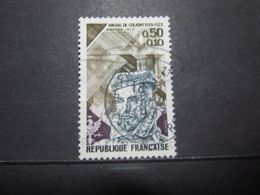 """VEND BEAU TIMBRE DE FRANCE N° 1744 , OBLITERATION """" PARIS - BD DE STRASBOURG """" !!! - Used Stamps"""