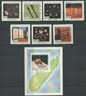 272 - MADAGASCAR 1994 - Yvert 1324/30 BF 91 - Artisanat Bijoux - Neuf ** (MNH) Sans Trace De Charniere - Madagascar (1960-...)