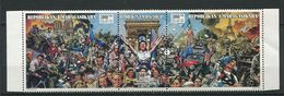 272 - MADAGASCAR 1994 - Yvert 1334/36 - Liberation De Paris 1944 Arc Triomphe - Neuf ** (MNH) Sans Trace De Charniere - Madagascar (1960-...)