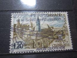"""VEND BEAU TIMBRE DE FRANCE N° 1712 , OBLITERATION """" PERPIGNAN """" !!! - Oblitérés"""