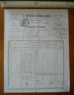 Mutuelle GENERALE-GRELE à CHAUMONT (Haute-Marne) - Année 1916 - France