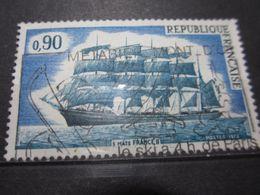 """VEND BEAU TIMBRE DE FRANCE N° 1762 , OBLITERATION """" METABIEF MONT D'OR """" !!! - Oblitérés"""