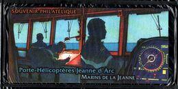 Bloc Souvenir N° 46 - Porte Hélicoptère Jeanne D'Arc - Neuf Sous Blister - Souvenir Blokken