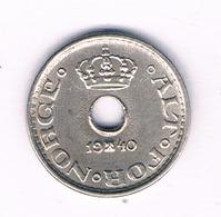 10 ORE 1940 NOORWEGEN /6432/ - Norway