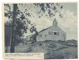 Orig. Knipsel Coupure Tijdschrift Magazine - Sint Idesbald - Verlaten Kapel In De Duinen - 1936 - Alte Papiere