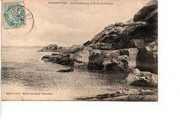 CP NOIRMOUTIER Les Rochers Près La Grotte St Philbert - Noirmoutier
