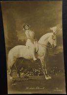 La Belle Titcomb (Heloise McCeney)  / Lady With White Horse / Circus / Photo Postcard / Photo De GERLACH - Circus
