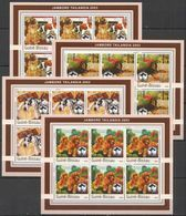 KV297 2003 GUINEA-BISSAU FAUNA PETS DOGS SCOUTING BOY SCOUTS !!! 6SET MNH - Dogs
