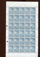 Belgie 1965 1334 Abbey Affligem Beer Abbaye FULL SHEET Plaatnummer 3 (see Scan) - Full Sheets