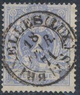 """émission 1869 - N°27 Obl Double Cercle (Dcb) """"Bruxelles (Lux.)"""" Luxe ! / Collection Spécialisée. - 1869-1883 Leopoldo II"""