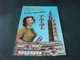 PIN UP TORRONE TORRE CREMONA LE TRE SPECIALITA' T.T.T.  PIEGA ANG. - Pin-Ups