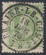 """émission 1869 - N°30 Obl Double Cercle """"Braine-le-comte"""" (1875) TB / Collection Spécialisée. - 1869-1883 Leopoldo II"""