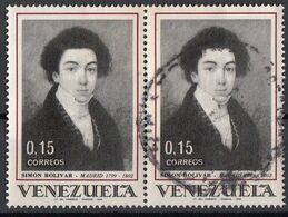 Venezuela 1969 Sc. 952  Simon Bolivar In Madrid Used - Venezuela