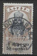 ETHIOPIA - 1942 - SERIE ORDINARIA - IMPERATORE - 50c. - USATO (YVERT 225 - MICHEL 202) - Ethiopia