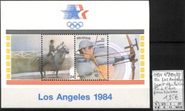 D - [107015]TB//**/Mnh-Belgique 1984 - N° 2121/22, Pour Timbres, Sports, Tir À L'Arc, Chevaux - Sommer 1984: Los Angeles