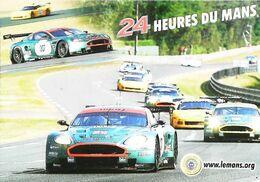 """LE MANS (24 Heures Du Mans 2005) ASTON MARTIN DB R9 """"007""""  Carte  ACO  Automobile Club De L'Ouest - Le Mans"""