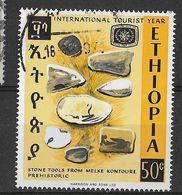 ETHIOPIA - 1967 - ANNO DEL TURISMO - 50c - USATO (YVERT 496 - MICHEL 575) - Ethiopia