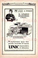 UNIC  Le Préfet N'autorise Que Les Poids Lourds Et Taxis UNIC Illustrateur Ehrmann PUTEAUX - France