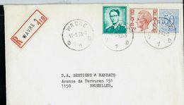 Doc. De WAVRE _ D 1 D -  Du 11/09/73 En Rec. ( E ) - Marcophilie
