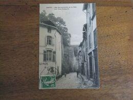 CHATEL / Une Des Curiosités De La Ville / Les Vieux Remparts - Chatel Sur Moselle
