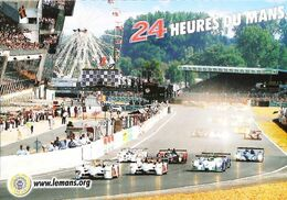 LE MANS (24 Heures Du Mans)   Course Et Grande Roue (big Wheel Großes Rad   Groot Wiel) - Le Mans