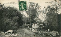 CPA - CAROLLES - LE FOND DE LA VALLEE DES PEINTRES - Frankreich