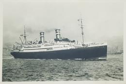 Cartolina - Nave Conte Verde - Linee Celerissime Di Lusso Mediterraneo 1940 Ca. - Postcards